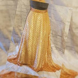 Rachel Comey Gimlet Velvet/Silk Asymmetrical Skirt